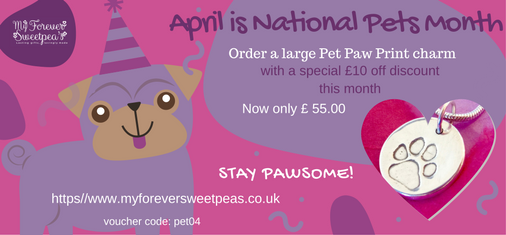 National Pet Month-April voucher code:pet04